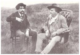 Alphonse Daudet Et Frédéric Mistral Au Mas De VERS En Camargue - Autres Communes