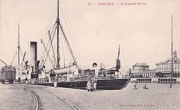 CALAIS        AVANT PORT    BATEAU ANCOBRA LONDON - Calais