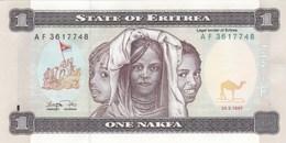 Erythrée - Billet De 1 Nakfa - 24 Mai 1997 - P1 - Neuf - Eritrea