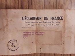 Bande Pour Expédition De L'éclaireur De France 30 05 1941 Scoutisme - Journaux