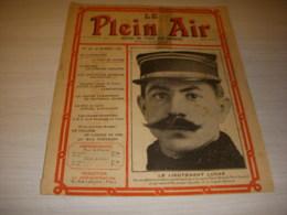 Le PLEIN AIR 107 27.10.1911 AVIATION Lt LUCAS Les MOTEURS - Sport
