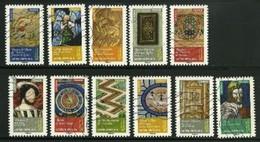 2014 Yt Adh 1012 à 1022 (o) Objets Art Renaissance - Oblitérés