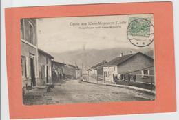 GRUSS  AUS KLEIN-MOYEUVRE  MOYEUVRE PETITE MOYEUVRE-GRANDE   AMNEVILLE LE VILLAGE      An: 1910  Etat: TB  Edit: Victors - France