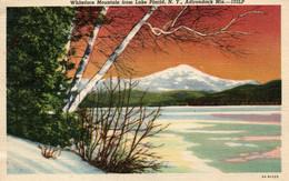 Whiteface Moutain From Lake Placid - New-York NY, Adirondack Mts - 103LP - Adirondack