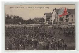25 LE VALDAHON ARRIVEE DE LA TROUPE AU CAMP N° 1504 - France