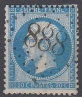 GC  888   LA  CHAPELLE  LA  REINE   ( 73 SEINE ET MARNE) - 1849-1876: Période Classique