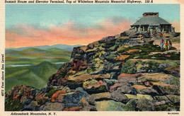Summit House And Elevator Terminal, Whiteface Mountain Memorial Highway - Adirondack Mountains, New-York NY - Adirondack
