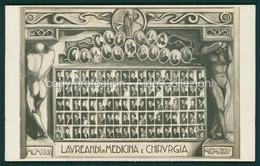 Padova  Laureandi In Medicina E Chirurgia 1925 FP P285 - Padova (Padua)