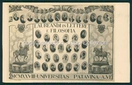 Padova  Laureandi Lettere Filosofia 1928 FP P288 - Padova (Padua)