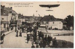 Paray Aviation-mai 1912-Avenue De La Gare, Vol De Tabuteau - Paray Le Monial