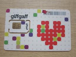 Giffgaff GSM Micro SIM Card, Fixed Chip - Royaume-Uni