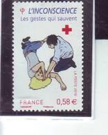 YT N°4524 Croix Rouge 2010 - Oblitérés