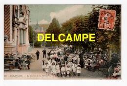 DD / 25 DOUBS / BESANÇON / LE PARC DU CASINO DE LA MOUILLÈRE / TRÈS ANIMÉE / 1912 - Besancon