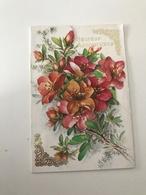 Carte Postale Ancienne Pop-Up Fleurs - A Systèmes