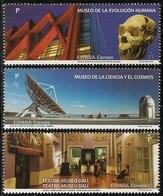 2020-ED. 5392 A 5394 -Museos. Evolución Humana, Ciencia Y El Cosmos De Tenerife Y Teatro- Museo Dalí- NUEVO - 1931-Hoy: 2ª República - ... Juan Carlos I