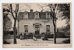 - CPA REUILLY (36) - Villa De Pierre Plate (avec Personnages) - N° 45 - - France