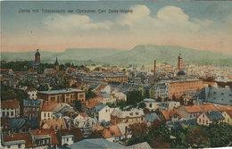 Jena Mit Totalsnsicht Der Optischen Carl Zeiss - Werke. Seltene, Alte AK Farbig. Ortsansicht, Gebäudeansichten - Cartes Postales