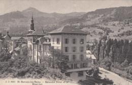 CPA - St Gervais Les Bains - Splendid Hôtel Et Le Mont Joli - Saint-Gervais-les-Bains