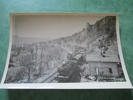 Traction à La Vapeur Dans La Vallée De La Dordogne Entre Souillac Et Cazoulès - Trains