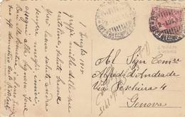 """9761-CARTOLINA ILLUSTRATA-""""POSTA MILITARE-UFF. 6° CORPO D'ARMATA"""" - 2-7-1915 - Marcophilia"""