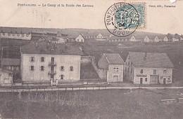 PONTARLIER         LE CAMP ET LA ROUTE DES LAVAUX - Pontarlier