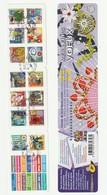 France Frankreich 2010 Yvert No BC493 Obl., Michel Markenheftchen 4995-5008 Gestempelt, Meilleurs Voeux Glückwünsche - France