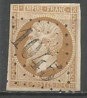 France - Napoleon III - N°13B Oblitéré GC 1045 CLECY (Calvados) - 1853-1860 Napoleone III