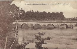 10523 CPA Pacy  Sur Armançon - Le Pont De La Rivière Armançon - Autres Communes