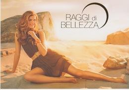 """PUBBLICITA' RARE ADVERTISING CARTOLINA PROMOCARD - """"RAGGI DI BELLEZZA"""" N° 8014 - Advertising"""