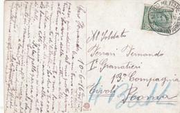 """9766-CARTOLINA ILLUSTRATA-""""POSTA MILITARE-18° CORPO ARMATA"""" - 11-6-1916 - Marcophilia"""