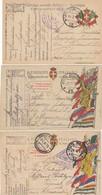 "9767-N°. 3 FRANCHIGIE 1° GUERRA-""POSTA MILITARE-12"" - 1918-19 - 1900-44 Victor Emmanuel III"
