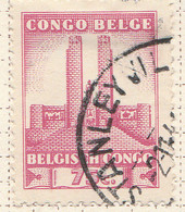 PIA - CONGO BELGA  - 1941 : Monumento Al Re Alberto A Leopoldville -  (Yv 218) - Oblitérés