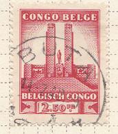 PIA - CONGO BELGA  - 1941 : Monumento Al Re Alberto A Leopoldville -  (Yv 221) - Oblitérés