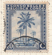 PIA - CONGO BELGA  - 1942 : Serie Corrente : Palme Da Olio  -  (Yv 231) - Oblitérés