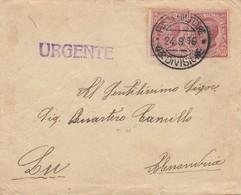 """9771-LETTERA - 1° GUERRA -""""POSTA MILITARE 43° DIVISIONE"""" - 24-8-1916 - Marcophilia"""
