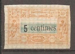 COTE S  - Yt.  N°  28  *   5c S 40c  Dijibouti  Cote  11  Euro BER  2 Scans - French Somali Coast (1894-1967)