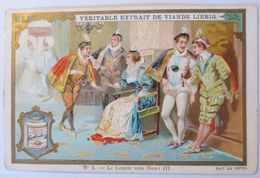 """Liebig-Sammelbilder"" Veritable Extrait De Viande Liebig, Henri III. ♥  - Liebig"