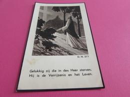 DOODSPRENTJE  PIERRE-EMILE VAN DE GAER - Images Religieuses