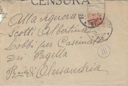 """9773-LETTERA - 1° GUERRA -""""POSTA MILITARE 57"""" - 4-11-1918 - Marcophilia"""