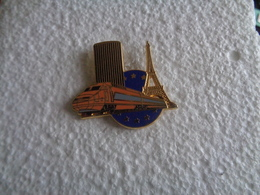 PIN'S 40901 - TGV