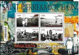 SP & M 2020 - Bloc - Scènes De Vie ** - St.Pierre & Miquelon