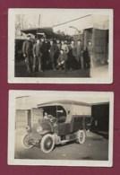 270420 - PHOTOS 1932 AVIATION - 33 BORDEAUX Parc Du Centre D'instruction Des Spécialistes De L'aviation Camion - Bordeaux
