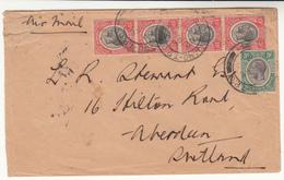 Tanganyika / Airmail / Railways / Volcanoes - Stamps