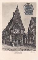 2791146Alt Goslar, Am Brusttuch (Künstler J. Schwarze) (Briefmarke Der Post 1923) (Minuscule Falten Im Ecken) - Goslar