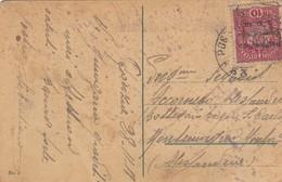 "9774-CARTOLINA ILLUSTRATA DI GORIZIA-""POSTA MILITARE-53"" - 28-11-1918 - 1900-44 Victor Emmanuel III"