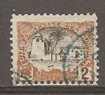 COTE S  - Yt.  N°  54   (o)   2c  Mosquée Cote  1,25 Euro BE  2 Scans - Französich-Somaliküste (1894-1967)