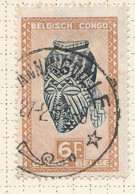 PIA - CONGO BELGA  - 1948-51 : Serie Corrente : Arte Indigena  -  (Yv 291) - Oblitérés