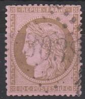 GC 3038  PUISEUX  ( 73 SEINE ET MARNE)  SUR 54 - 1849-1876: Klassieke Periode