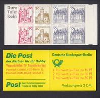 Berlin Markenheftchen 10a II Burgen Und Schlösser 1977 Postfrisch  - Berlin (West)
