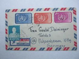 Luftpostbrief Aus Taipeh Nach Deutschland - Lettres & Documents